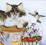 Click for more details of Cozy Cats (cross stitch) by Stoney Creek