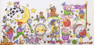 Click for more details of Cross Stitch Treasures for Children (cross-stitch pattern) by Annie's Attic