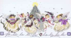Click for more details of Crystal Christmas (cross stitch) by Mirabilia Designs