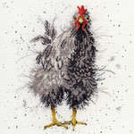 Click for more details of Curious Hen (cross stitch) by Bothy Threads