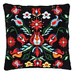 Click for more details of Cushion: Folklore III (tapestry) by Vervaco