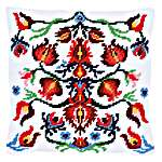 Click for more details of Cushion: Folklore IV (tapestry) by Vervaco