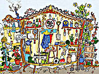 Click for more details of Cut Thru' Garden Shed (cross-stitch kit) by Bothy Threads