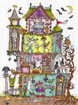 Click for more details of Cut Thru' Haunted House (cross stitch) by Bothy Threads