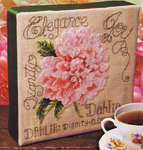 Click for more details of Dahlia (cross stitch) by Stoney Creek