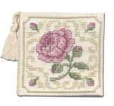 Click for more details of Damask Rose Needlecase (cross stitch) by Textile Heritage