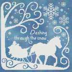 Click for more details of Dashing Through the Snow (cross stitch) by Stoney Creek