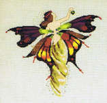 Click for more details of Day Nymph (cross stitch) by Mirabilia Designs