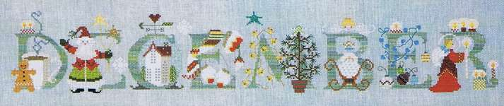 Click for more details of December (cross stitch) by The Cross-Eyed Cricket