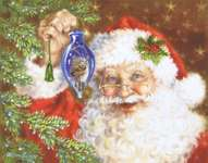 Click for more details of Deck the Halls (cross stitch) by Heaven and Earth Designs