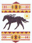 Click for more details of Desert Accents (cross stitch) by Stoney Creek