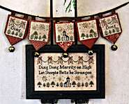 Click for more details of Ding Dong Merrily on High (cross stitch) by Heartstring Samplery