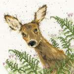 Click for more details of Doe a Deer (cross stitch) by Bothy Threads