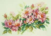Click for more details of Dog Rose Flowers (cross stitch) by Magic Needle