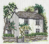 Click for more details of Dove Cottage (cross stitch) by Rose Swalwell