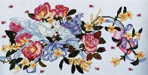 Click for more details of Doves (cross stitch) by Abris Art