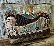 Click for more details of Dreaming Frida (cross stitch) by Barbara Ana Designs