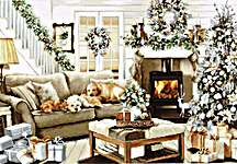 Click for more details of Dreaming of a White Christmas (cross stitch) by Luca - S