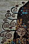 Click for more details of Dreaming of Klimt (cross stitch) by Barbara Ana Designs
