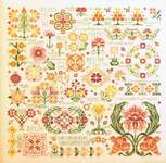 Click for more details of Dreaming of Mums (cross stitch) by Rosewood Manor