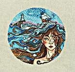 Click for more details of Dreams about the Sea (cross stitch) by Golden Fleece