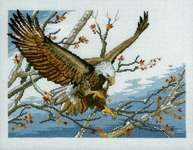 Click for more details of Eagle (cross stitch) by Permin of Copenhagen