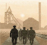 Click for more details of Early Shift (cross stitch) by Phil Smith