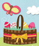 Click for more details of Easter Sticker Medley (embellishments) by K&Company
