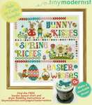 Click for more details of Easter Wishes (cross stitch) by Tiny Modernist