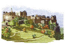 Click for more details of Edinburgh Castle (cross stitch) by Rose Swalwell