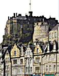 Click for more details of Edinburgh Castle (cross stitch) by Thea Gouverneur