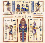 Click for more details of Egyptian Tomb (cross-stitch pattern) by Mike Vickery