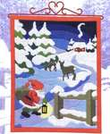 Click for more details of Elf on Christmas Night (long-stitch) by Permin of Copenhagen