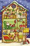 Click for more details of Elf's Workshop (cross stitch) by DMC Creative