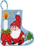 Elf with Light Mini Stocking