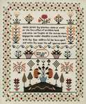 Click for more details of Eliza Rule 1824 (cross stitch) by Hands Across the Sea Samplers
