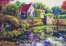 Click for more details of English Castle (cross stitch) by Dimensions