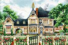 Click for more details of English Manor (cross stitch) by Andriana