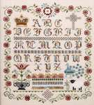 Click for more details of English Rose Sampler (cross stitch) by Jeannette Douglas