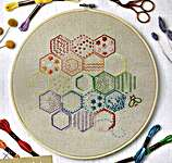 Click for more details of Essentials: Stitch Sampler 1: Honeycomb (embroidery) by Anchor