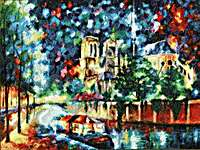 Click for more details of Evening in Paris (cross stitch) by Golden Fleece