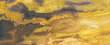 Click for more details of Evening Sky with Storm Clouds (cross stitch) by Thea Gouverneur