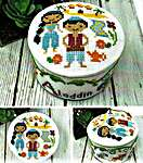 Click for more details of Fairy Tale Pin Cushions - Aladdin (cross stitch) by Tiny Modernist