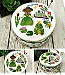 Click for more details of Fairy Tale Pin Cushions - Frog Prince (cross stitch) by Tiny Modernist