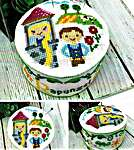 Click for more details of Fairy Tale Pin Cushions - Rapunzel (cross stitch) by Tiny Modernist