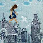 Click for more details of Fairy Tales Live on the Roof  (cross stitch) by RTO
