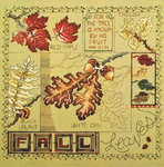 Click for more details of Fall Leaves (cross stitch) by Stoney Creek