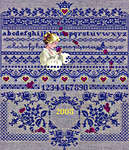 Click for more details of Fallen Roses (cross stitch) by Lavender & Lace