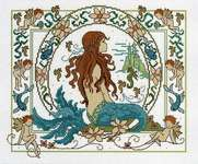 Click for more details of Fantasy Mermaid (cross stitch) by Lesley Teare