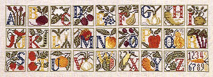 Click for more details of Farmer's Alphabet (cross stitch) by The Prairie Schooler